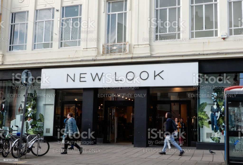 The Frontage of New look clothing store on George Street stock photo
