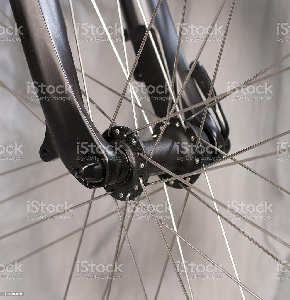 the frontwheel stock photo