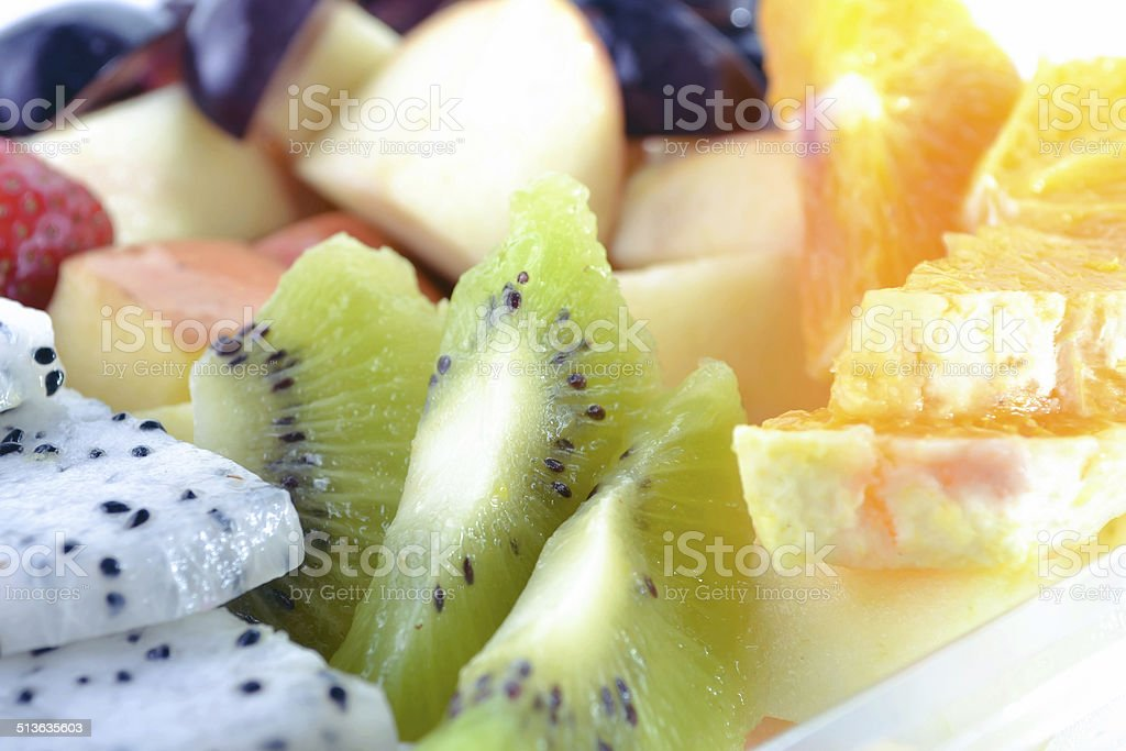 The Fruit Salad stock photo