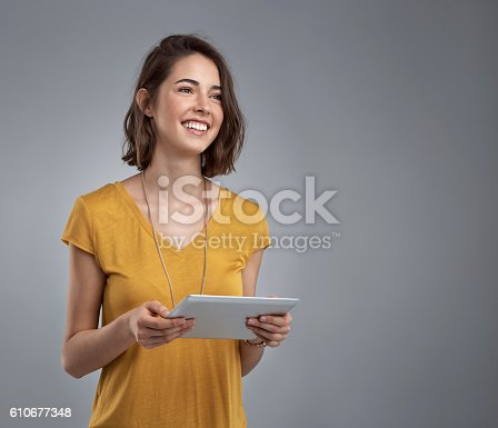610677352istockphoto The functionality of this tablet is great 610677348