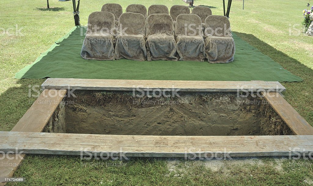 The Funeral royalty-free stock photo
