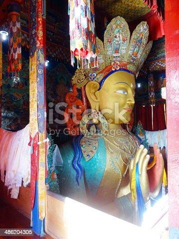 istock The future buddha Maitreya buddha 486204305