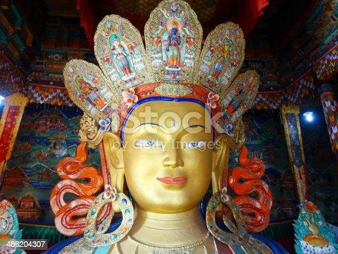 istock The future buddha Maitreya buddha 486204307