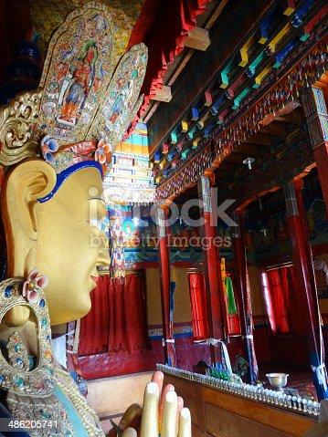 istock The future buddha Maitreya buddha 486205741