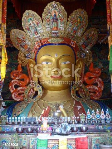 istock The future buddha Maitreya 482930081