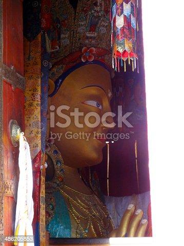 istock The future buddha matriya buddha 486205853