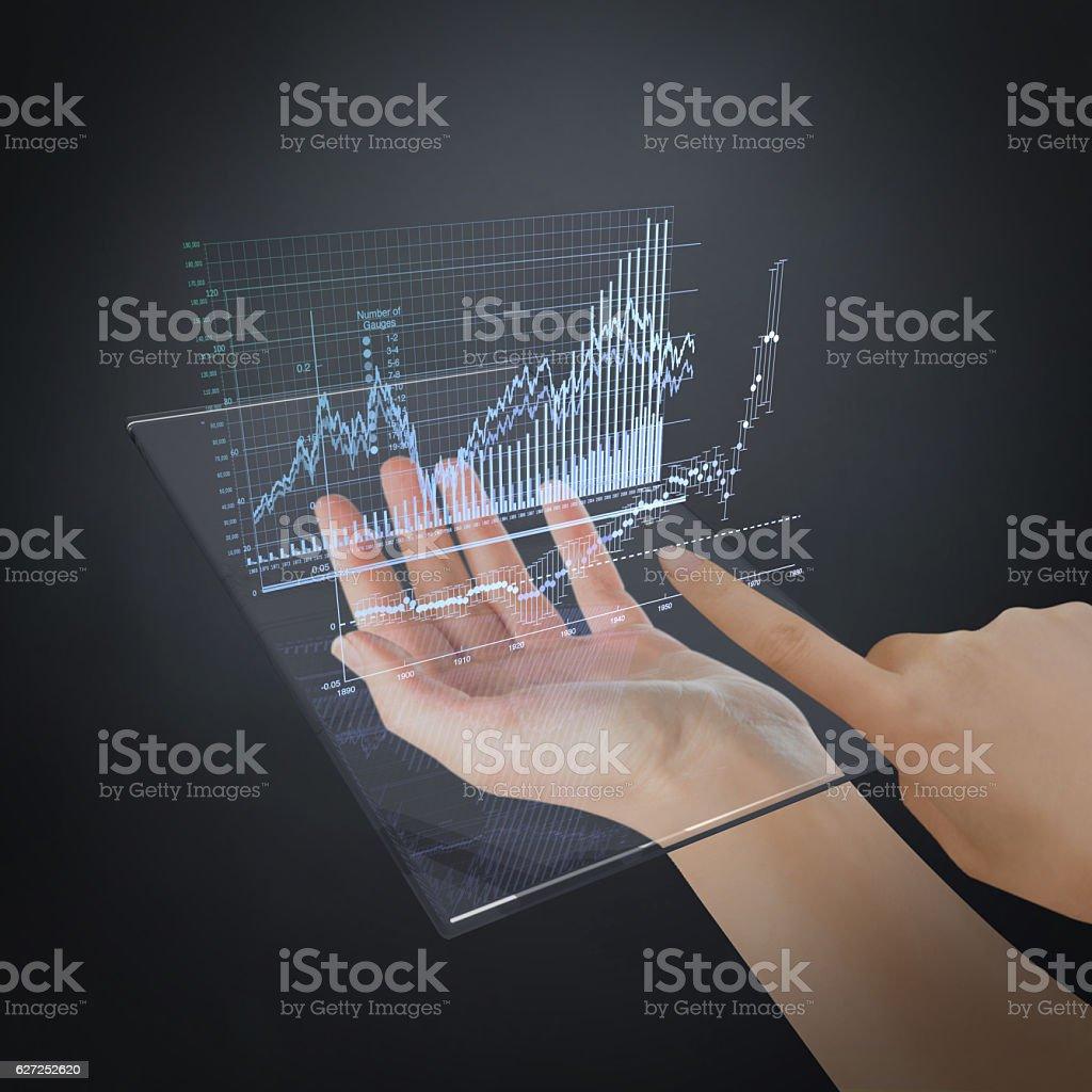 The Future of Finance stock photo