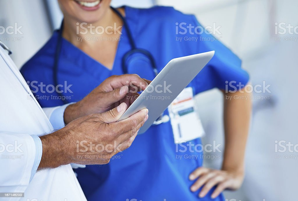 The future of healthcare royalty-free stock photo