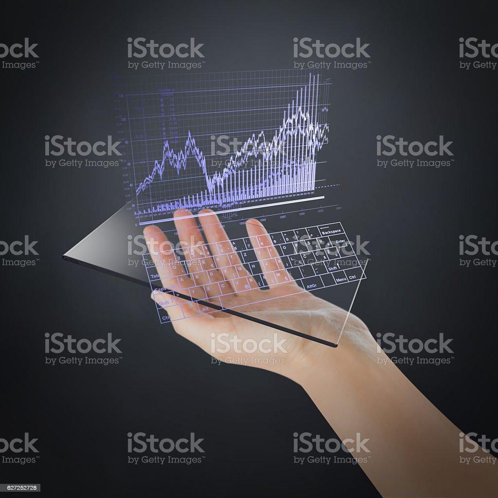 The Future of Mobile Exchange stock photo