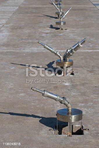istock The futuristic water gun 1135243015