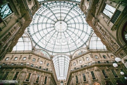 istock The Gallerie Vittorio Emanuele II 1127986974