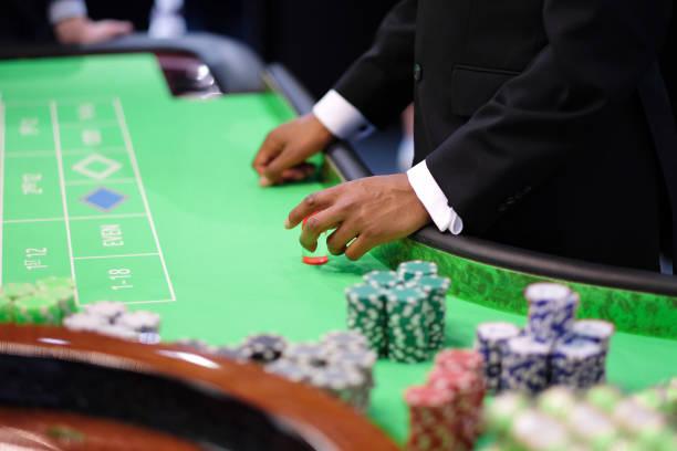 Das Roulette im Casino – Foto