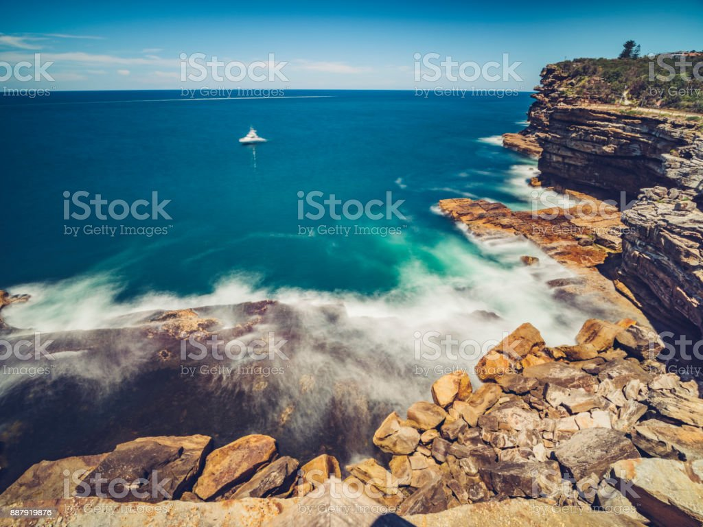 The Gap, Watsons Bay, Sydney, New South Wales, Australia stock photo