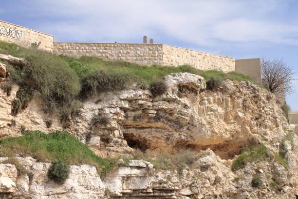 The Garden Tomb - Jerusalem - Israel stock photo