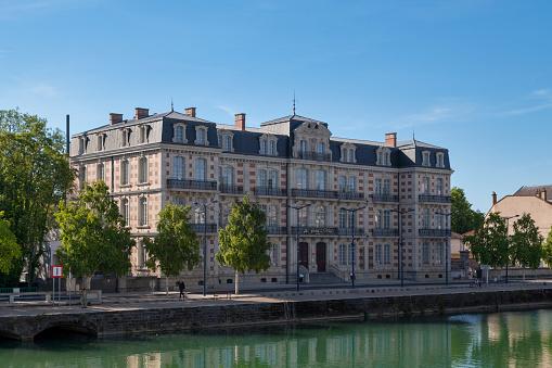 The Gardens Du Mess Hotel In Verdun Stock Photo - Download Image Now
