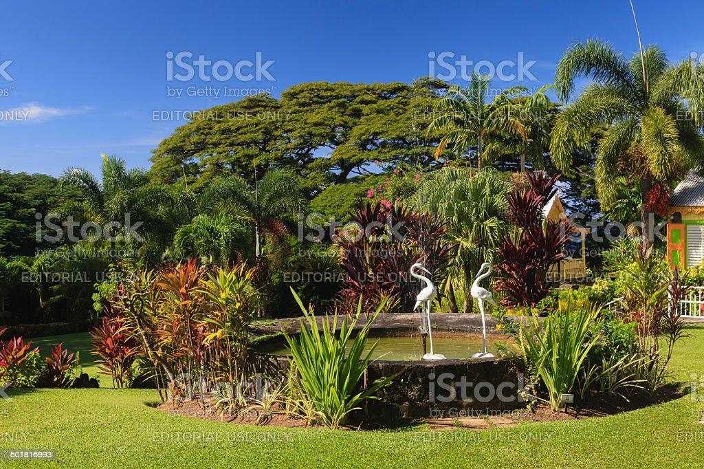 The Gardens of Romney Manor royalty-free stock photo