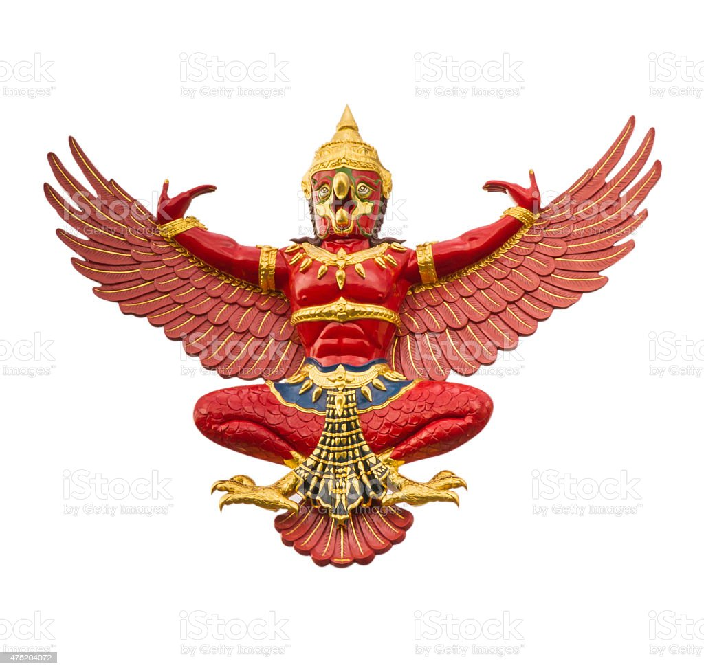 The Garuda. stock photo