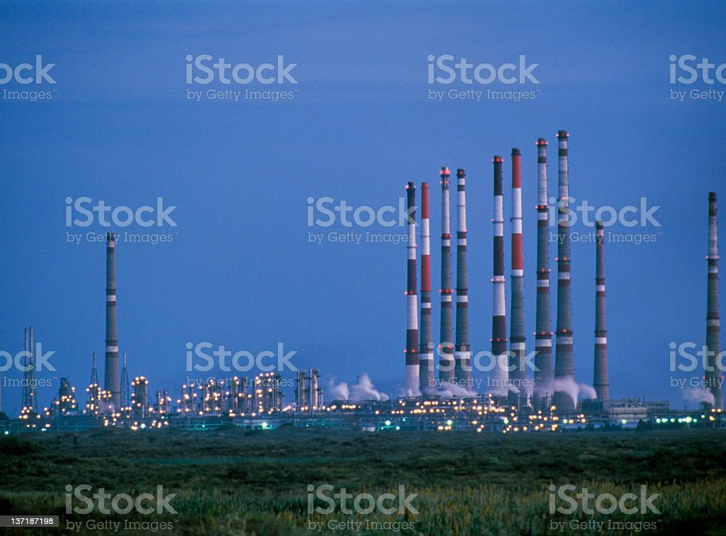 The gas and oil industry. royalty-free stock photo