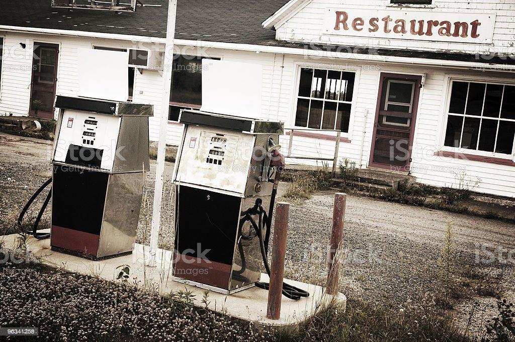 Stop gazu - Zbiór zdjęć royalty-free (Powrót do retro)