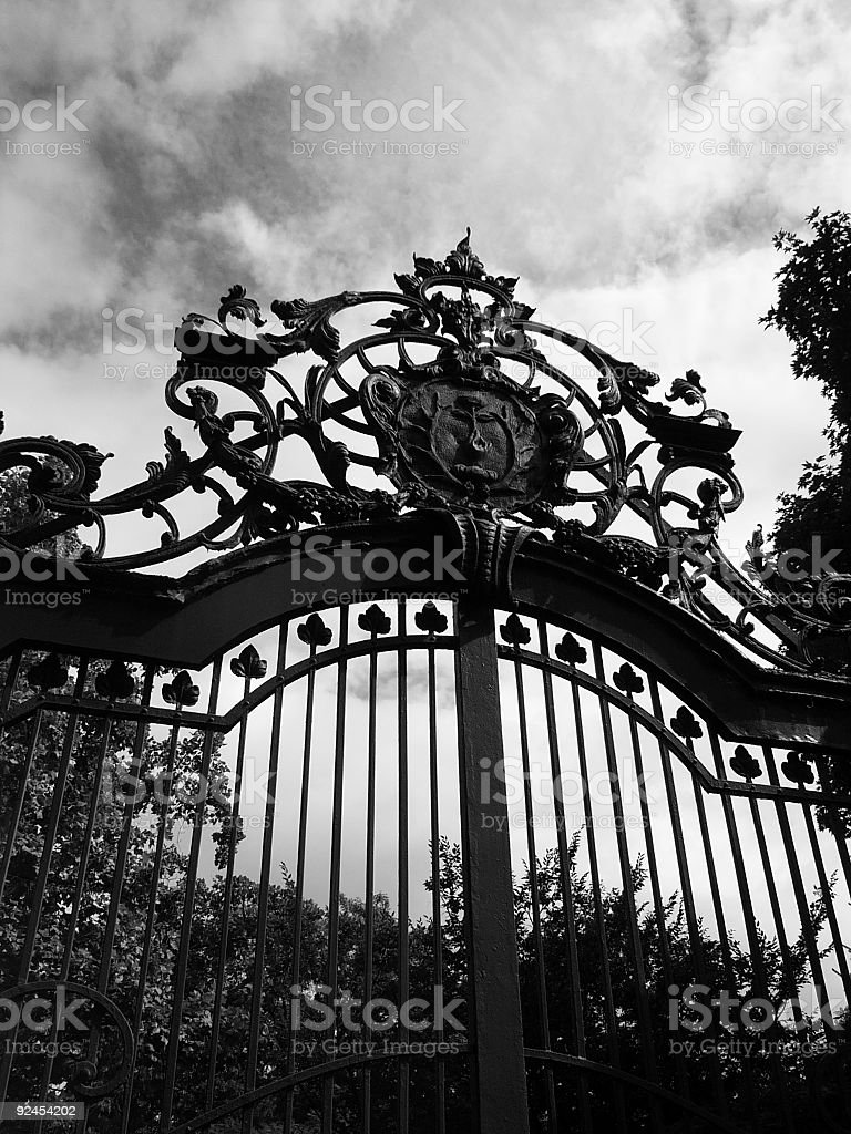 The Gate stock photo