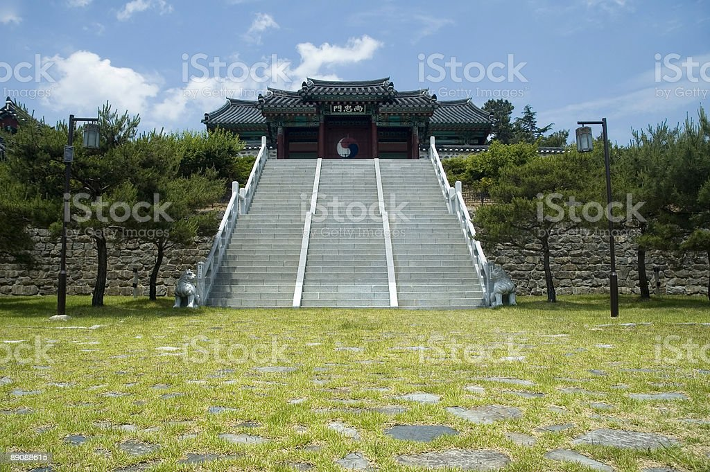The Gates of Tranquility royalty-free stock photo