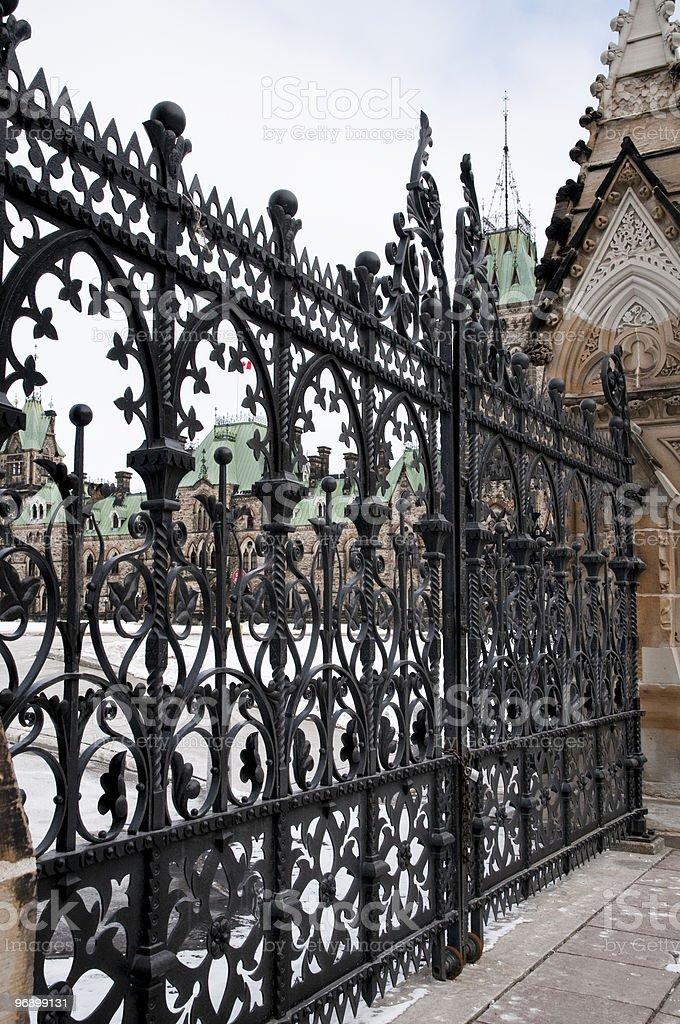 The Gates royalty-free stock photo