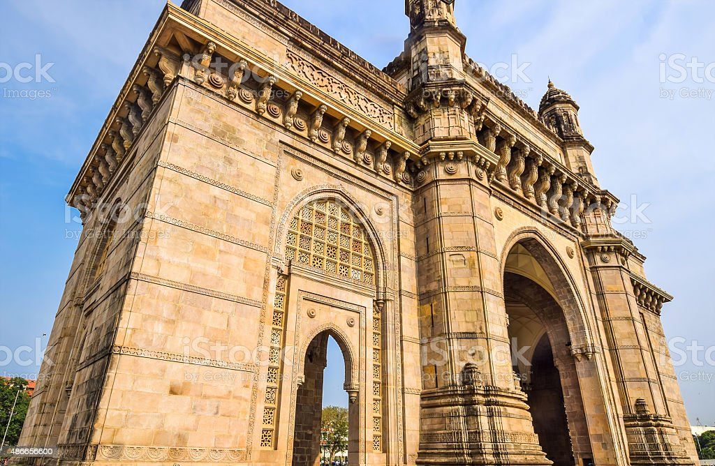 The Gateway of India, Mumbai, India stock photo
