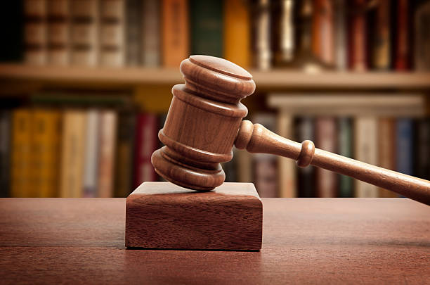 The gavel The gavel of a judge in court jurist stock pictures, royalty-free photos & images