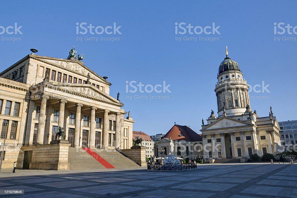 The Gendarmenmarkt in Berlin royalty-free stock photo