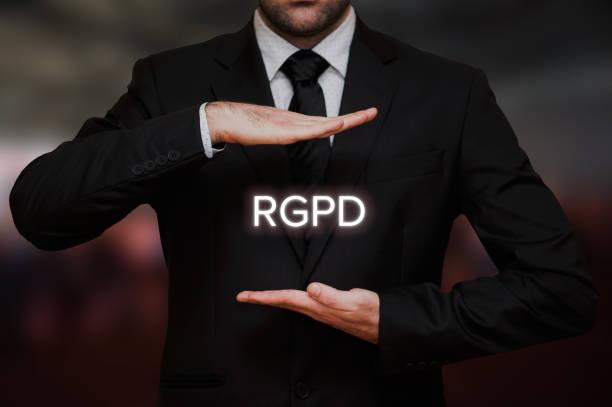 El Reglamento General de Proteccin de Datos (RGPD) stock photo