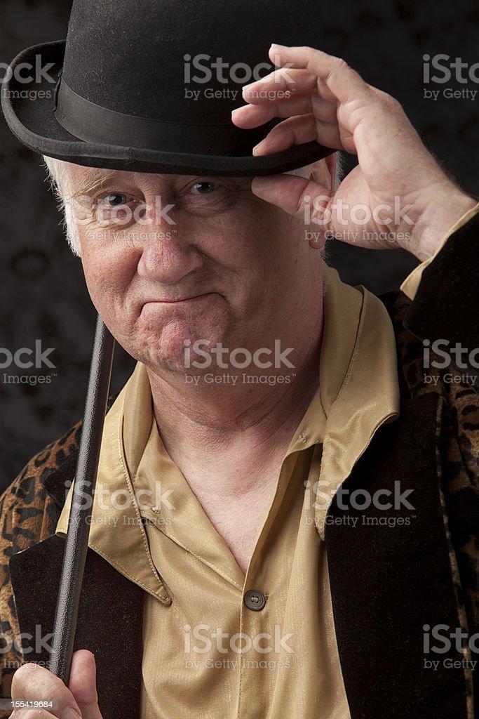 The gentle gentleman stock photo