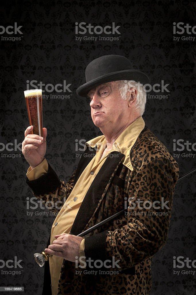 The gentleman's toast stock photo