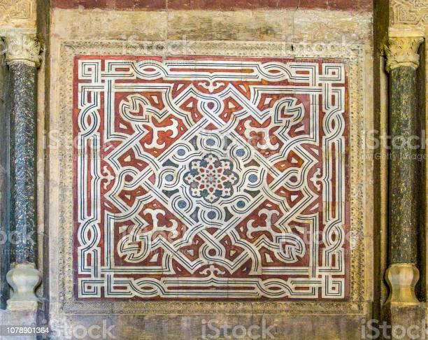 The geometrical Islamic mosaics