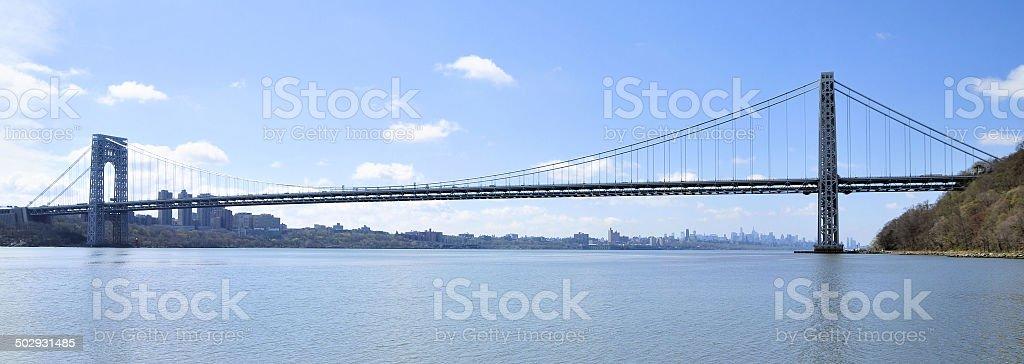 The George Washington Bridge stock photo