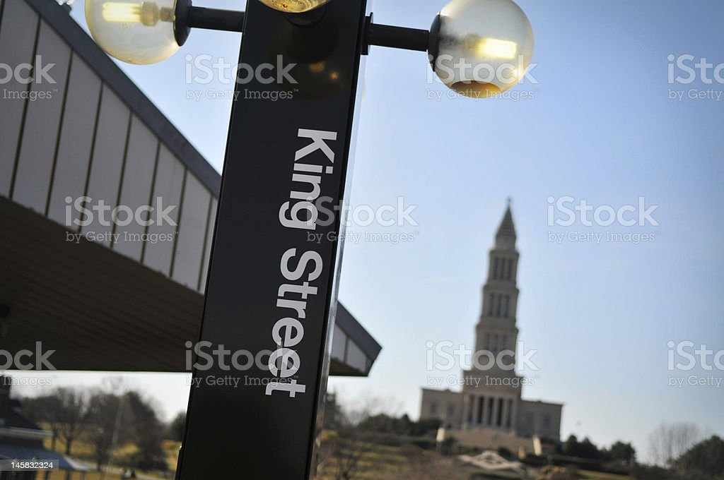 The George Washington Masonic Memorial building stock photo