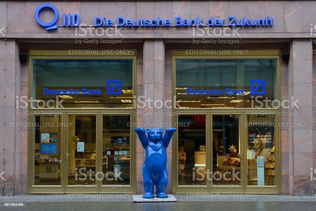 The German Bank (Deutsche bank) office stock photo