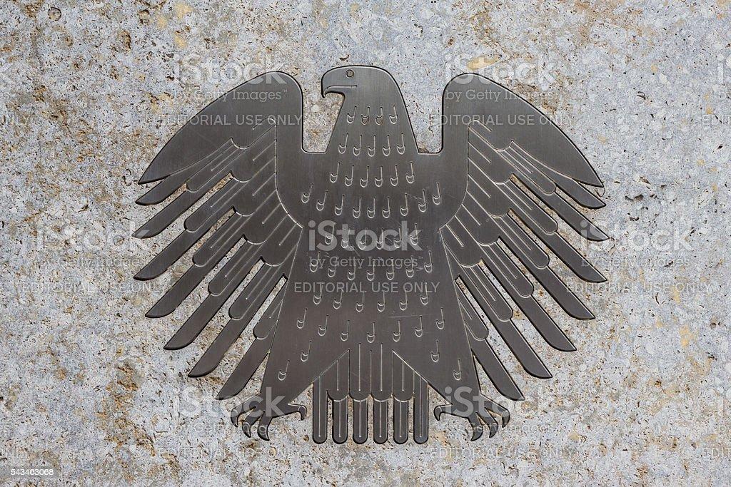 Die deutsche Adler (Bundesadler), das logo des Deutschen Bundestages – Foto