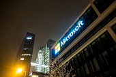 The German headquarters of Microsoft is located close to the Hightlight Towers if IBM and Fujitsu
