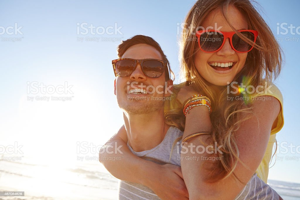 The getaway of a lifetime stock photo