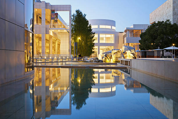 The Getty Center stock photo