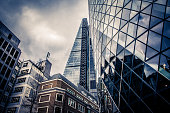 istock The Gherkin at 30 St Mary Axe, London 618948758
