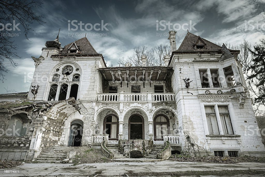 The Ghost House stock photo