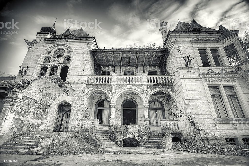 The Ghost House royalty-free stock photo