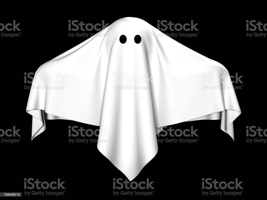 The ghost royalty-free stock photo