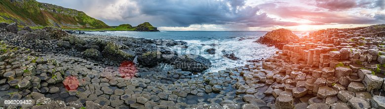 istock The Giant's Causeway  in the morning. 696209432
