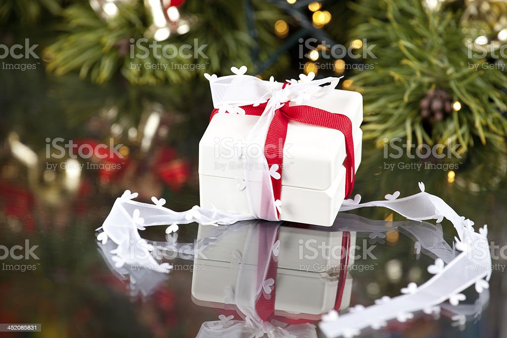 The Gift stock photo