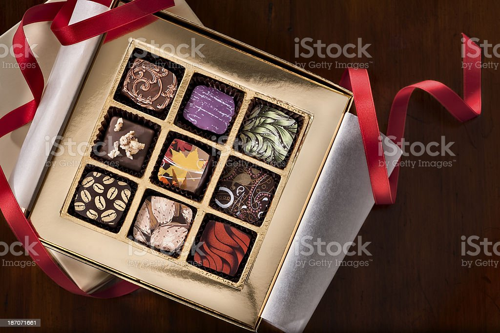The Gift.Color Image royalty-free stock photo