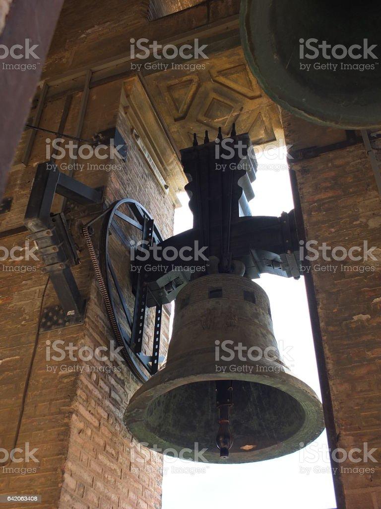 The Giralda Bell stock photo