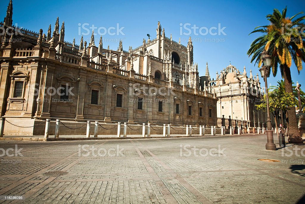 La Giralda royalty-free stock photo