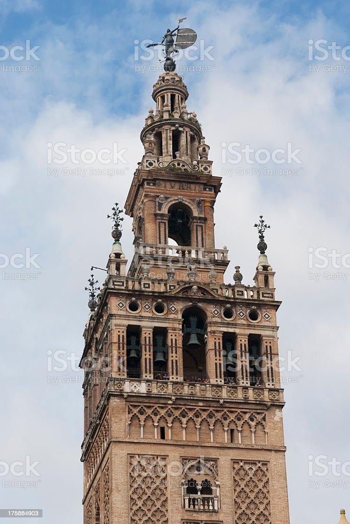 The Giralda, Seville royalty-free stock photo